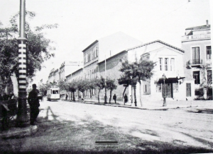 Το Ωδείο Αθηνών στην οδό Πειραιώς.
