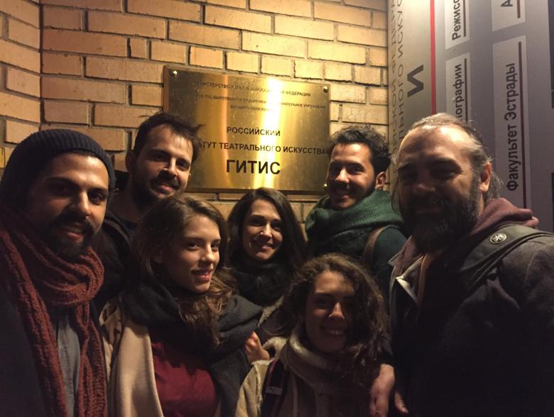 Η Δραματική Σχολή του Ωδείου Αθηνών στη Μόσχα